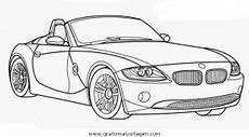malvorlagen auto bmw bmw z4 cabriolet gratis malvorlage in autos2