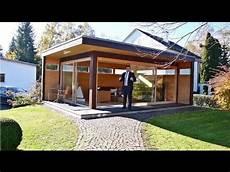 modernes gartenhaus quot my lounge xl quot hummel blockhaus