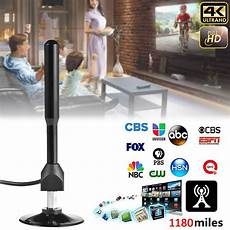 when will tv stations broadcast in 4k uk 4k digital hdtv aerial indoor amplified antenna 1180 miles range with hd1080p dvb t2 freeview tv