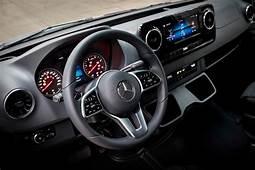 2020 Mercedes Benz Sprinter Cargo Van Interior Photos