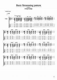 5 B Basic Strumming Patterns 1 Major Chords E D A