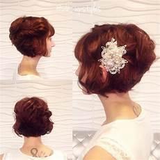 Wedding Hairstyles For Bob Cuts