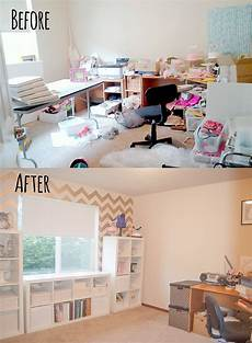 eek to chic craft room makeover itsy