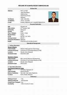 resume sles malaysia image result for malaysia resume resumes best resume