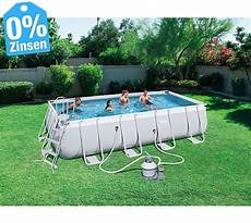 Frame Power Steel Pool 549x274x122cm Im Set Mit
