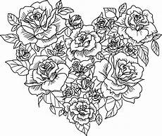 shaped flower coloring page coloringcom sketch