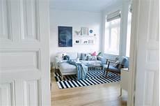 wohnzimmer neu einrichten kupfer ros 233 und blau