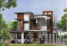 modern house plans in kerala low cost contemporary house kerala home design floor