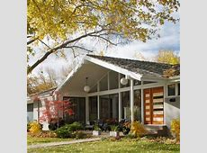 Exterior 70s style house Design Ideas, Pictures, Remodel
