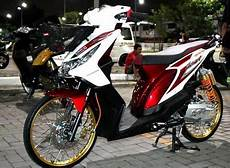 Airbrush Beat Karbu by Gaya Modifikasi Motor Honda Beat Terbaru