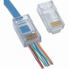 Platinum Tools Ez Rj45 Cat 6 Connector 50 Pcs