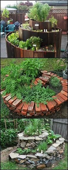 Herb Garden Design by Best 25 Spiral Garden Ideas On The Spiral