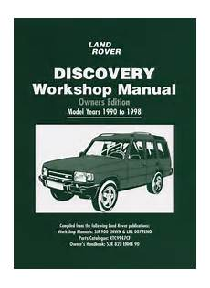 book repair manual 1994 land rover discovery transmission control land rover discovery workshop manual owners edition 1990 1998 bentley publishers repair
