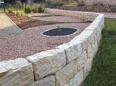 sandstein mauersteine gartenmauer 30 stk gespitzt