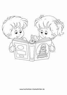 Malvorlagen Buch Pdf Ausmalbilder Malvorlagen Taetigkeit Kinder Lesen Ein Buch