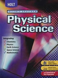holt physical science textbook worksheets 13118 moodle science