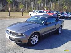 2010 sterling grey metallic ford mustang v6 convertible