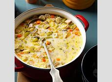 creamy turkey vegetable soup_image