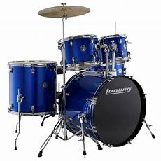 New Ludwig Lc170 Accent Fuse 5 Complete Drum Set W