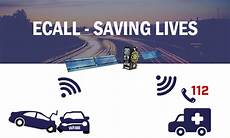 e call ecall emergency alert system launched