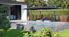 piscine semi enterr 233 e design piscines carr 233 bleu