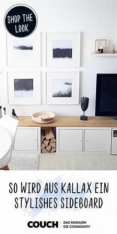 Ikea Hack 3 Kallax Wird Zum Stylishen Tv Lowboard In