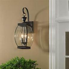 quoizel oasis 21 quot high bronze finish outdoor wall light