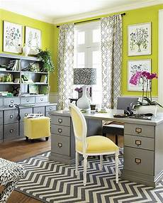 Yellow Home Decor Ideas by Top 5 Colorful Home Office Design Ideas
