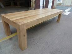 superbe table de ferme en ch 234 ne massif pieds poutre chalet