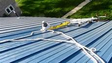 Equipment For Climbing A Metal Roof
