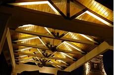 illuminazione per gazebo in legno illuminazione tettoie in legno decorazione