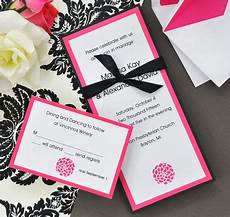 fuchsia flower diy invitation kit wedding invitations diy diy wedding