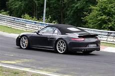 étagère originale spyshots 2013 porsche 911 targa 991 autoevolution