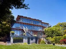 Haus Hanglage Modern - modern hillside home by pfau architecture