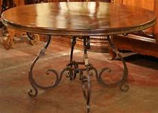 Wrought Iron Dining Room Table