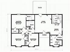 single floor 3 bhk house plans 3 bedroom 1 floor plans simple 3 bedroom house floor plans