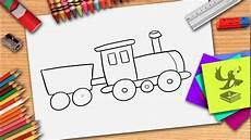 einfache malvorlagen lernen wie zeichnet eine zug zge zeichnen lernen