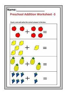 simple addition worksheets with pictures 9602 preschool basic addition worksheets free printable preschool and kindergarten