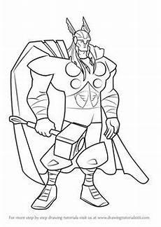 Ausmalbilder Superhelden Thor Ausmalbilder Thor Malvorlagen 194 Malvorlage Thor