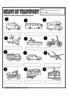 means of transport science pinterest english worksheets and english vocabulary