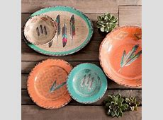 Feather Melamine Dinnerware   Santa Fe Company OKC