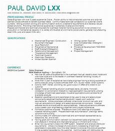 sales engineer resume sle sales resumes livecareer