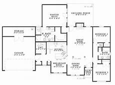 e plans ranch house plans ranch style house plan 3 beds 2 baths 1716 sq ft plan