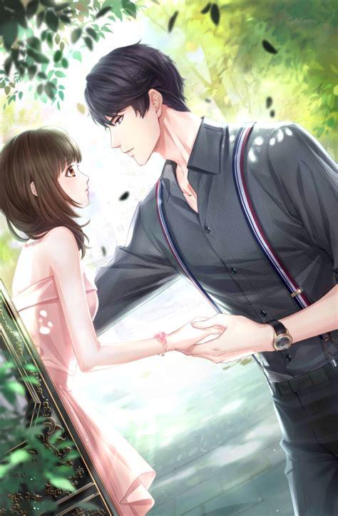 Anime Couple Dancing