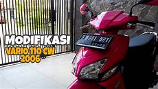 Modifikasi Vario 110 Karbu by Modifikasi Vario 110 Cw Karbu Lama
