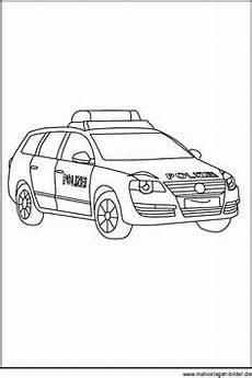ausmalbilder polizei autos 01 ausmalen polizei kinder