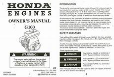 small engine service manuals 1995 honda accord engine control honda g100 engine owners manual