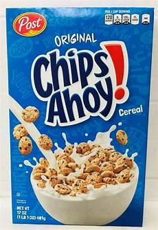 original chips ahoy cereal 19 oz post fresh 884912268389 ebay