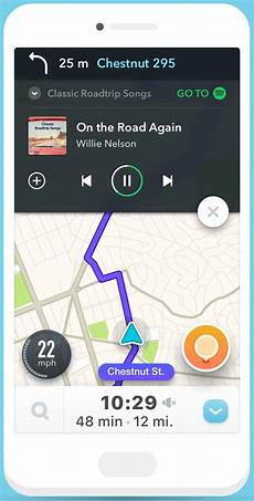 Waze And Spotify Partner Up To Bring Your And