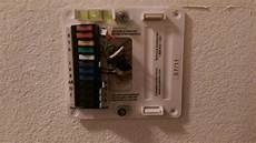 thermostat wiring diagram 44377 44132 wiring problem no heat doityourself community forums